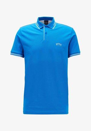PAUL CURVED - Polo shirt - blue