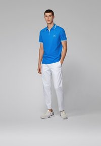 BOSS - PAUL CURVED - Poloshirts - blue - 1