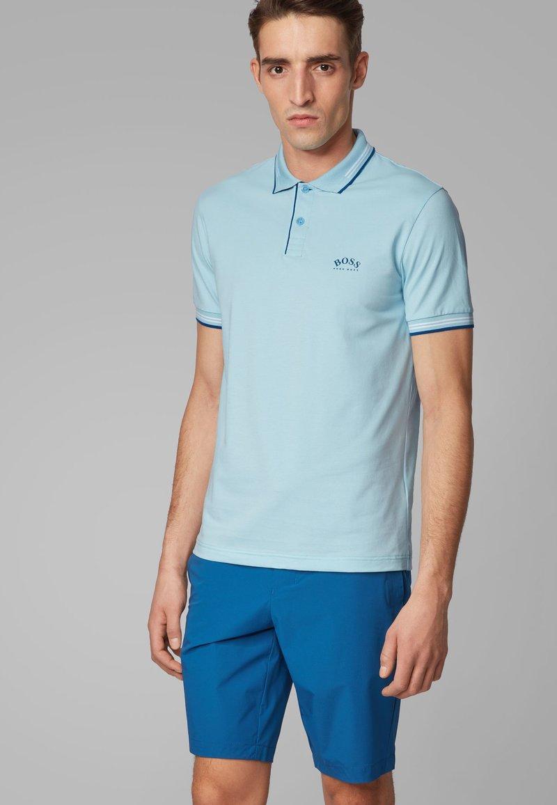 BOSS - PAUL CURVED - Poloshirt - dark blue