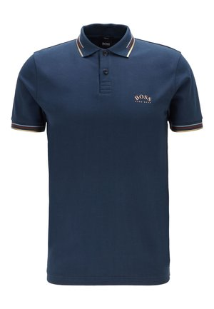 PAUL CURVED - Polo - dark blue