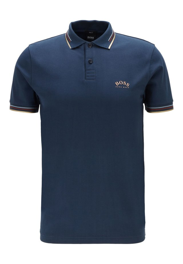 PAUL CURVED - Polo - dark blue
