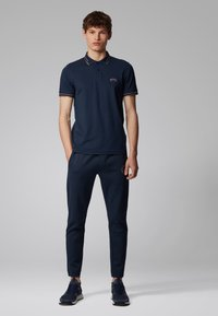 BOSS - PAUL CURVED - Polo shirt - dark blue - 1