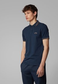 BOSS - PAUL CURVED - Polo shirt - dark blue - 2