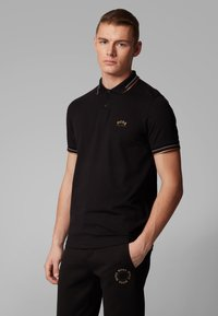 BOSS - PAUL CURVED - Polo shirt - anthracite - 2