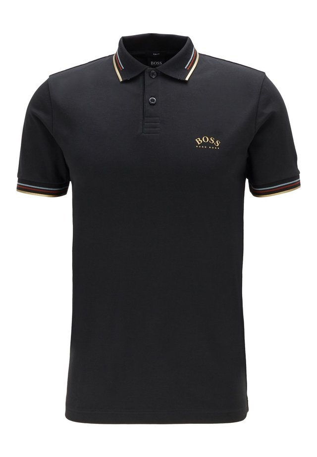 PAUL CURVED - Polo - anthracite