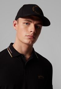 BOSS - PAUL CURVED - Polo shirt - anthracite - 4