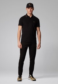 BOSS - PAUL CURVED - Polo shirt - anthracite - 1