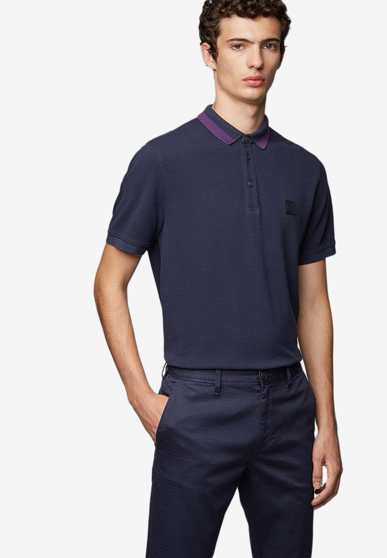 BOSS - PASE - Polo - dark blue