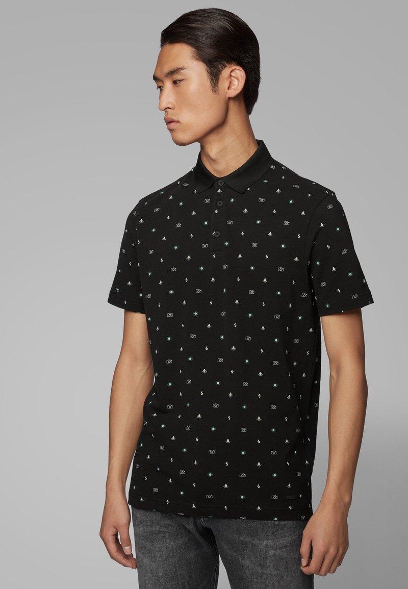 BOSS - PREX - Polo shirt - black