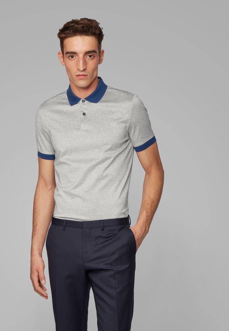 BOSS - PENROSE 22 - Polo shirt - open grey