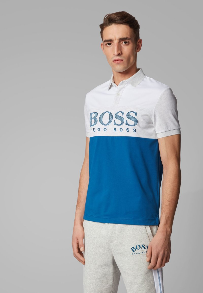 BOSS - PAVEL - Poloshirts - blue