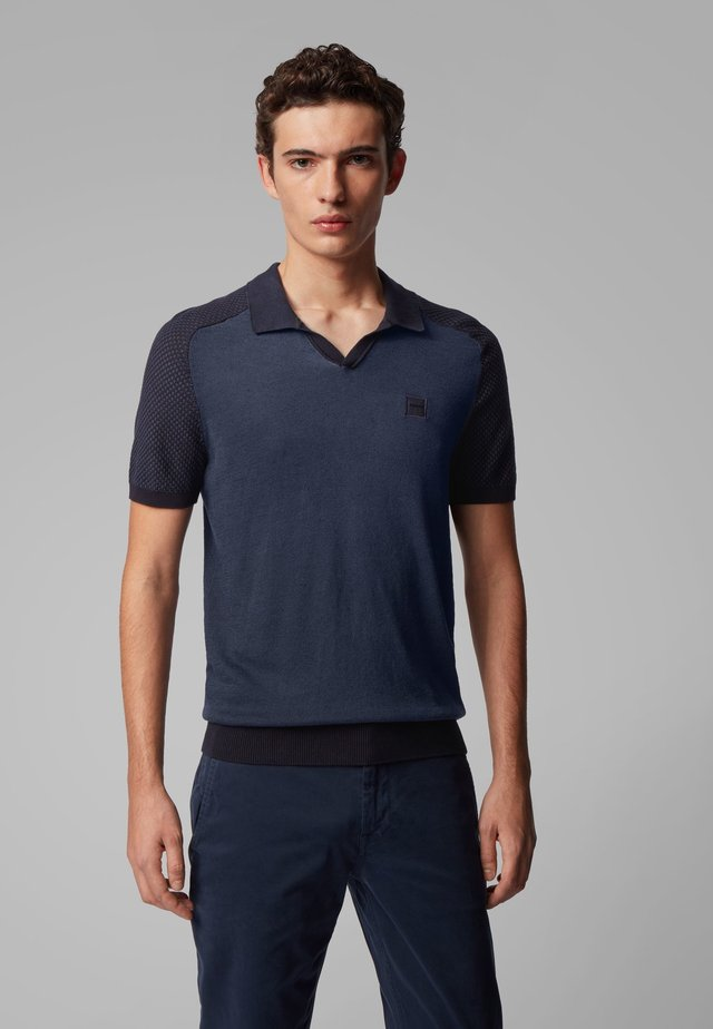 KOHEN - Polo shirt - dark blue