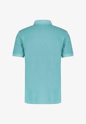 "BOSS HERREN POLOSHIRT ""PRIME"" SLIM FIT KURZARM - Polo shirt - aqua (53)"