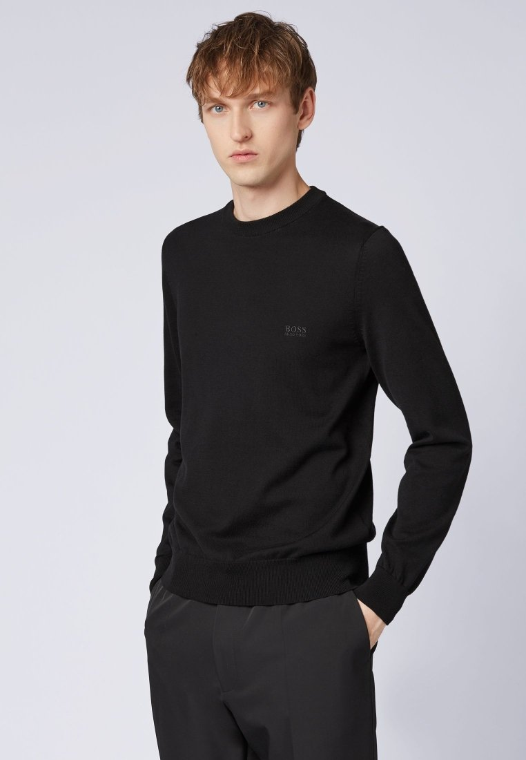 BOSS - PACAS - Strickpullover - black