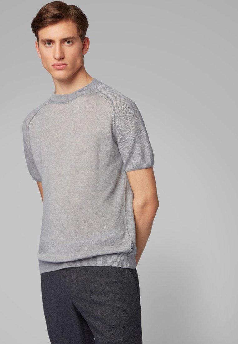 BOSS - JULIOS - T-shirt basic - silver