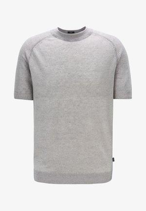 JULIOS - T-shirt basique - silver
