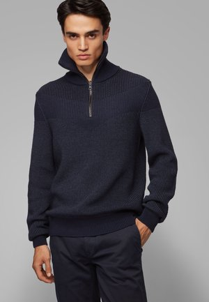 AYFAIR - Strickpullover - dark blue