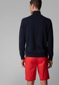 BOSS - ZAMOT - Zip-up hoodie - dark blue - 2