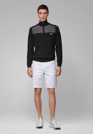 ZAMOT - veste en sweat zippée - black