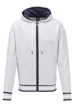 HERITAGE JACKET HOOD - Zip-up hoodie - grey