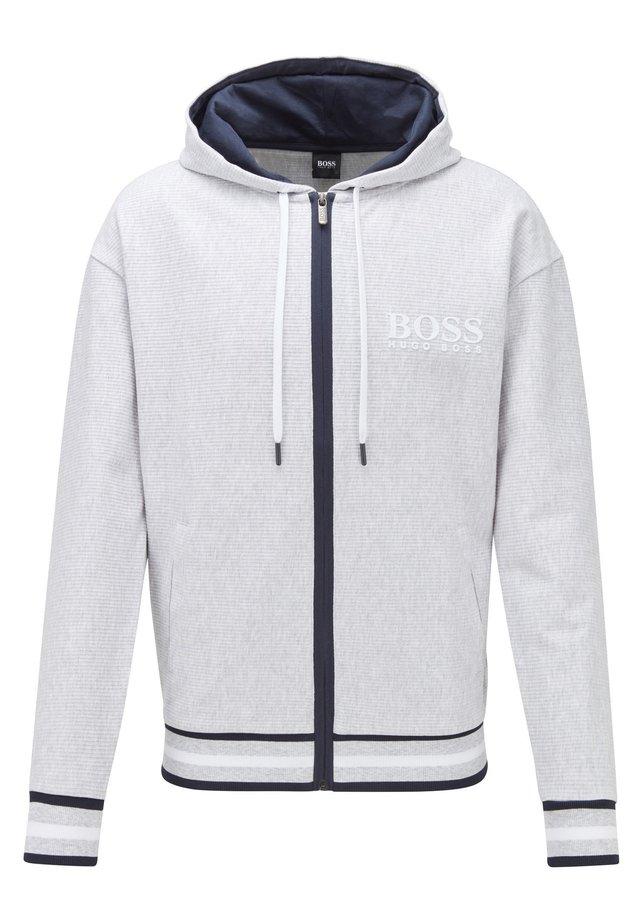 HERITAGE JACKET HOOD - veste en sweat zippée - grey
