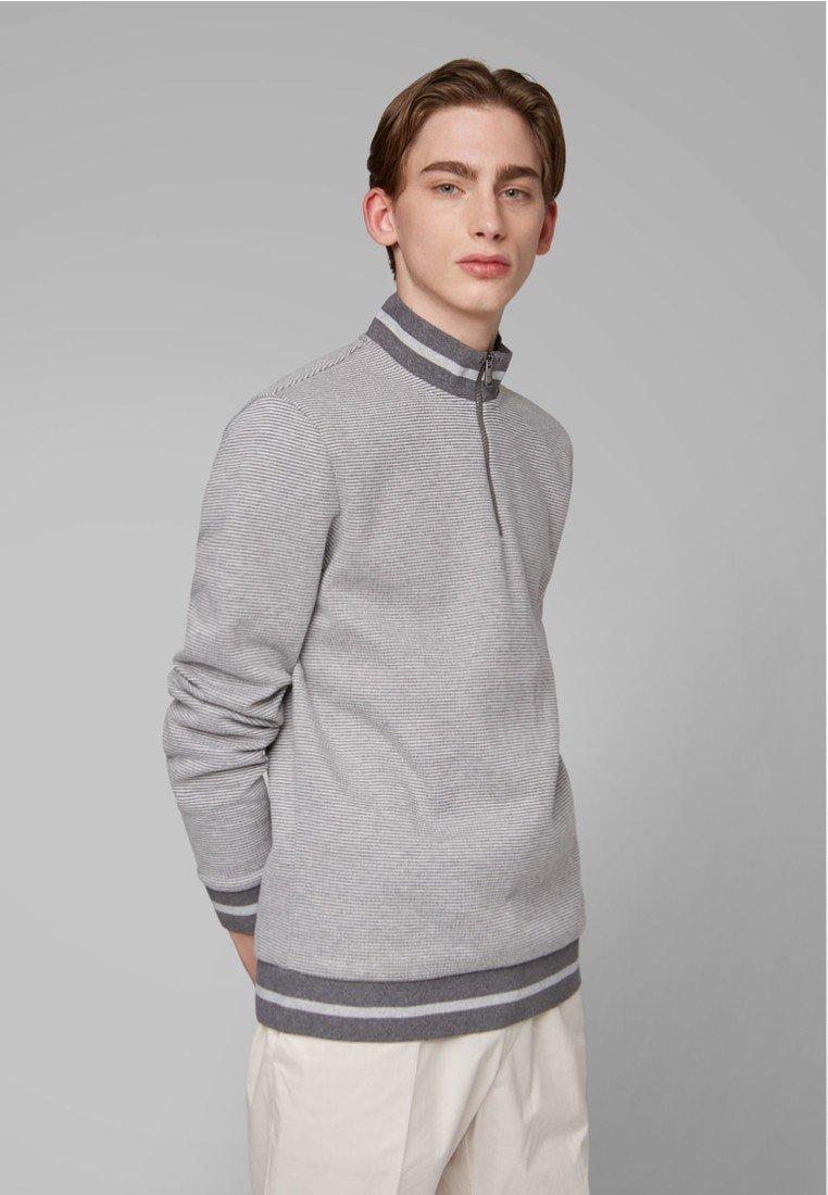 BOSS - SIDNEY - Sweatshirt - open grey