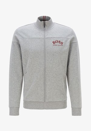 SKAZ - veste en sweat zippée - light grey