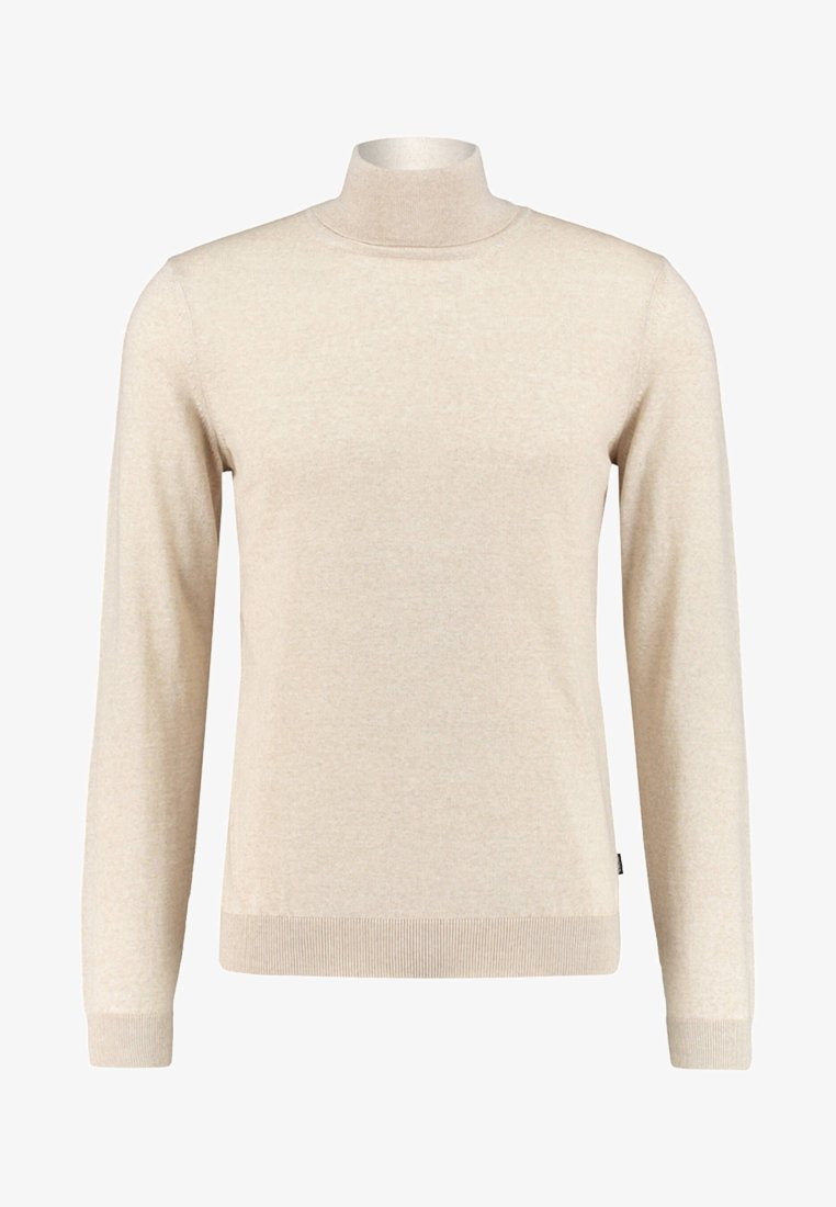 BOSS - MUSSO-P - Strickpullover - offwhite