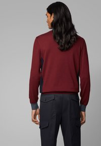 BOSS - GARNEO - Sweatshirt - dark red - 2