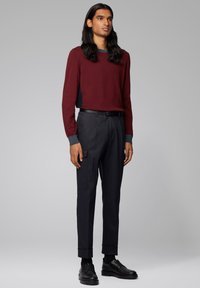 BOSS - GARNEO - Sweatshirt - dark red - 1
