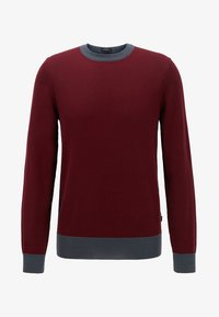 BOSS - GARNEO - Sweatshirt - dark red - 3