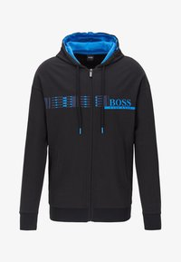 BOSS - Hoodie met rits - black - 4