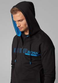 BOSS - Zip-up hoodie - black - 0