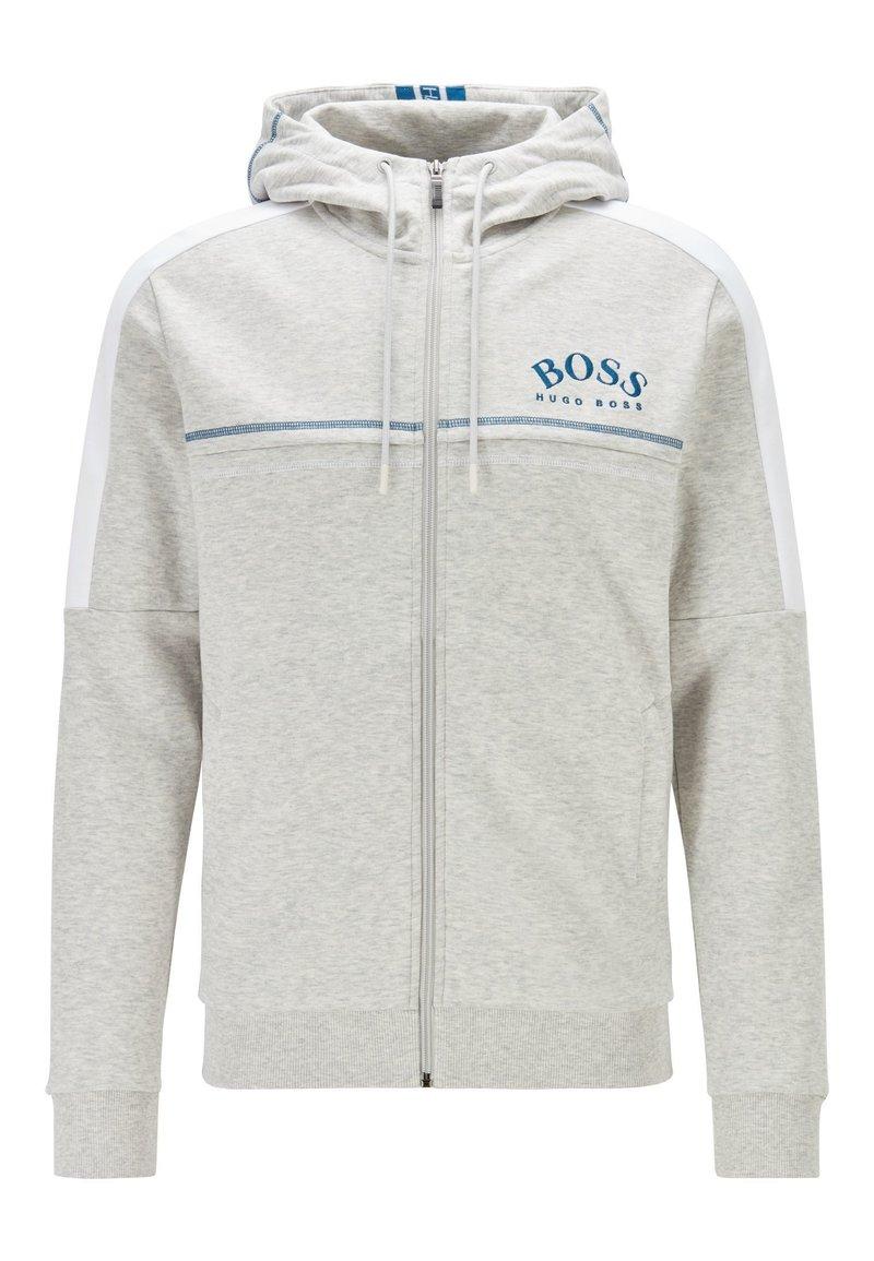 BOSS - SAGGY - Zip-up hoodie - light grey