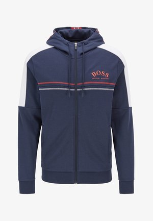 SAGGY - veste en sweat zippée - dark blue