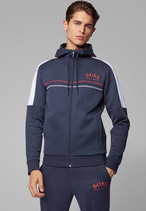 SAGGY - veste en sweat zippée - dark blue