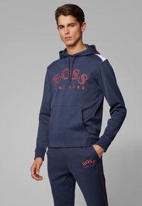 BOSS - SOODY - Felpa con cappuccio - dark blue - 0