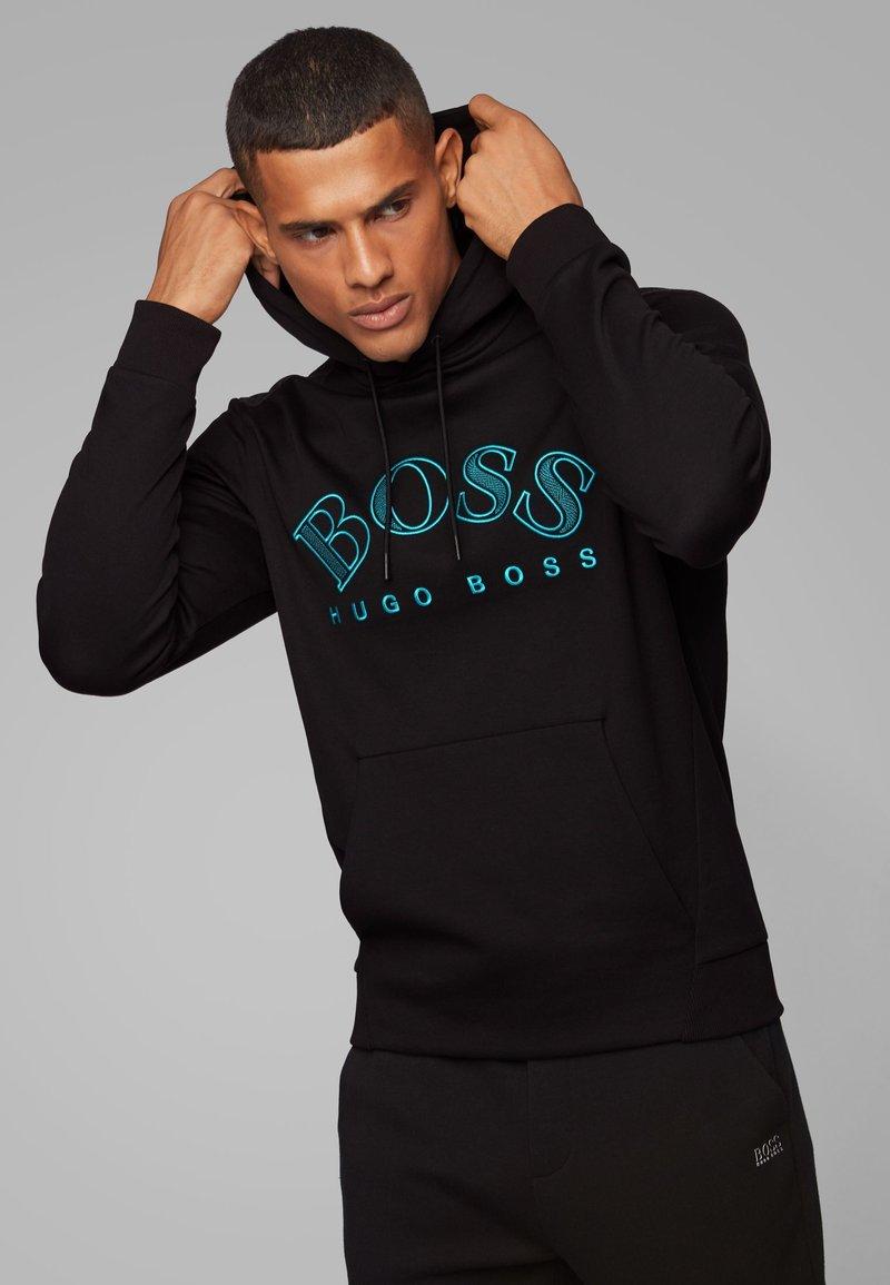 BOSS - SOODY - Hoodie - black