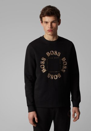 SALBO CIRCLE - Sweatshirt - anthracite
