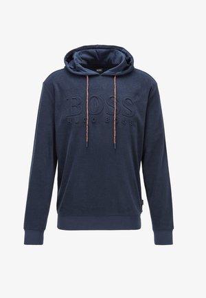 LS-SHIRT HOODED - Sweat à capuche - dark blue