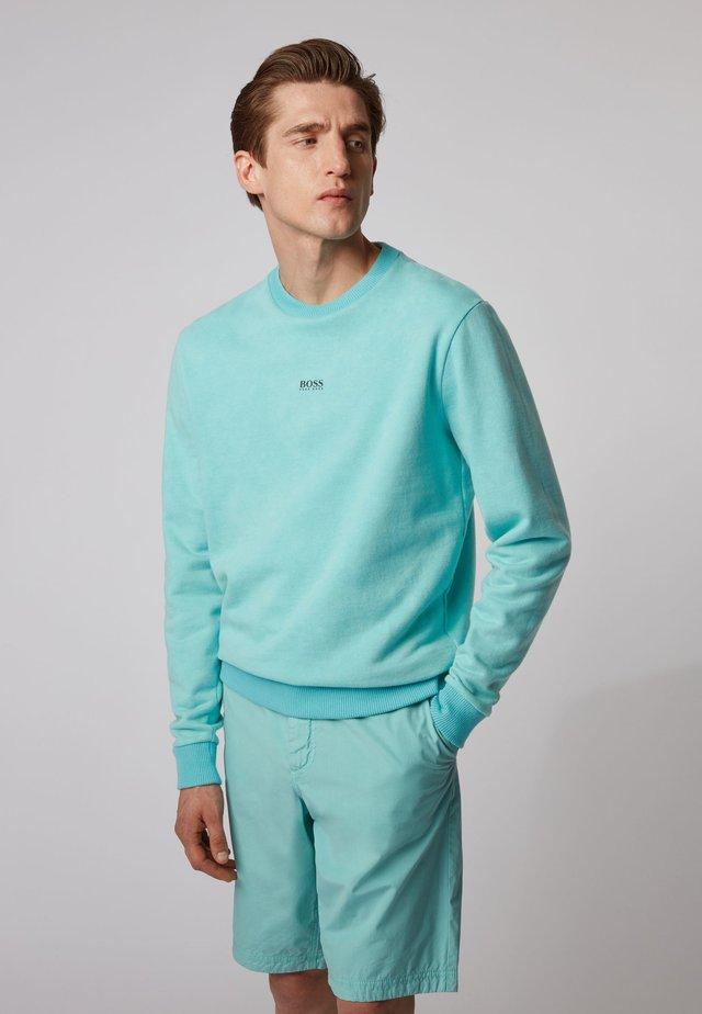 WASH - Sweatshirt - turquoise