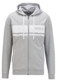 BOSS - Zip-up hoodie - light grey - 0