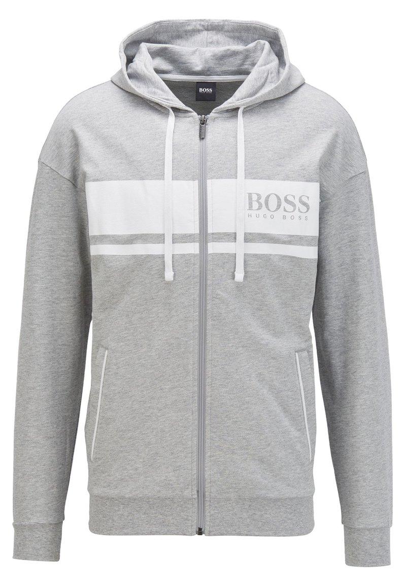 BOSS - Zip-up hoodie - light grey