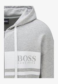BOSS - Zip-up hoodie - light grey - 1