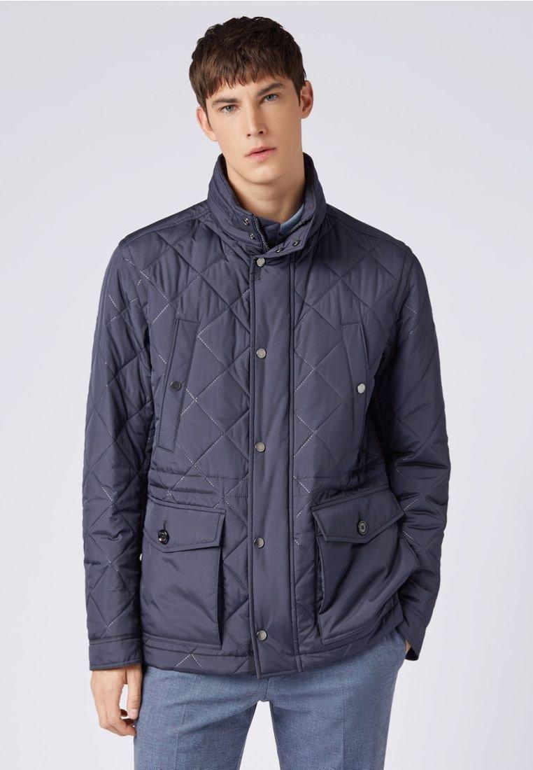 BOSS - CARGER - Winter jacket - dark blue