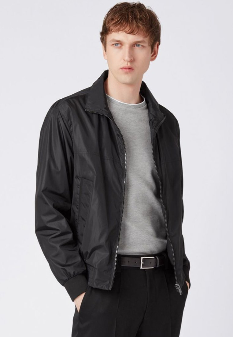 BOSS - CARVECARVEL Regular Fit - Regenjacke / wasserabweisende Jacke - black