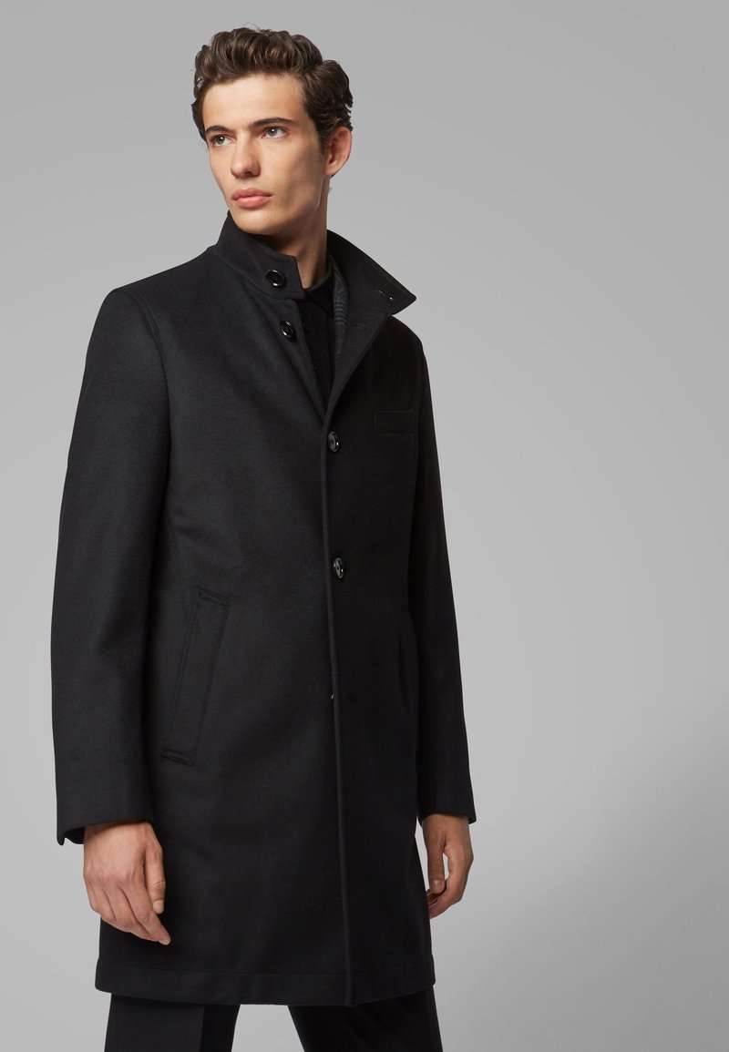 BOSS - SHANTY - Classic coat - black
