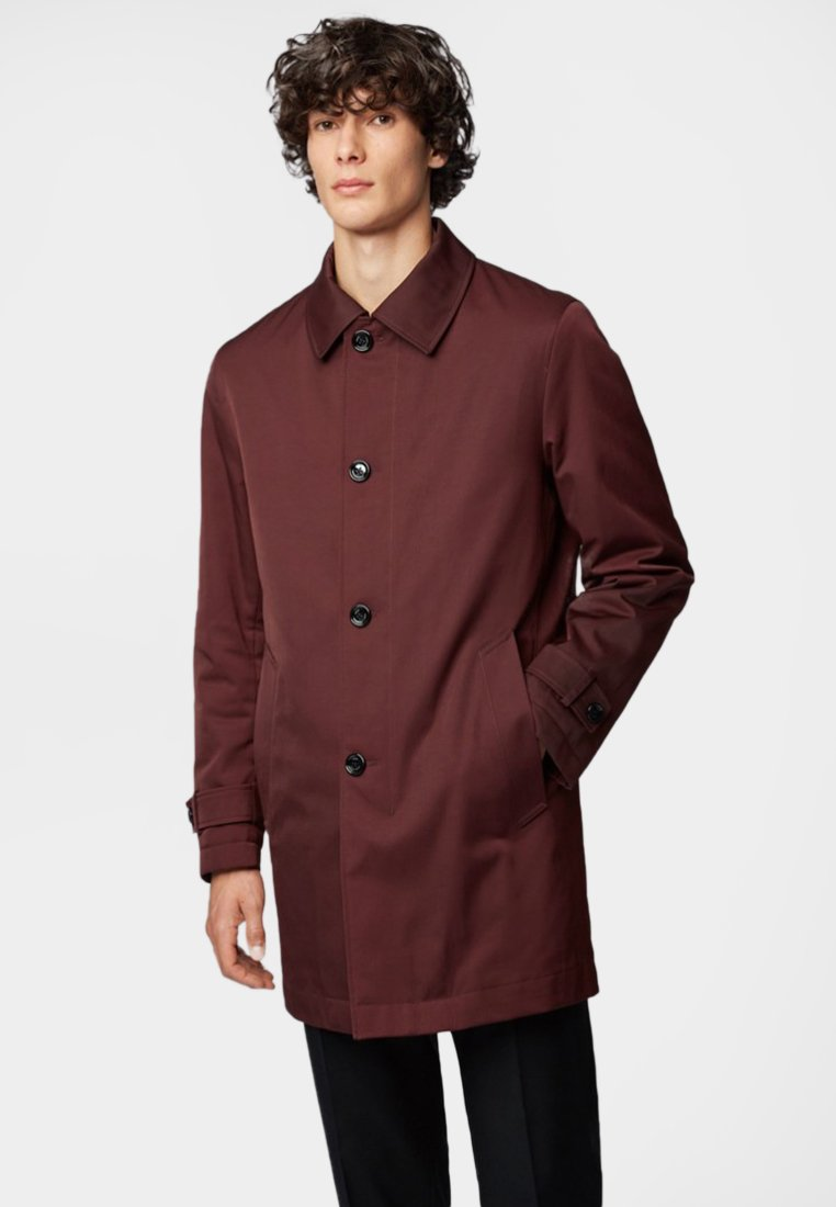 BOSS - DAIN - Short coat - dark red