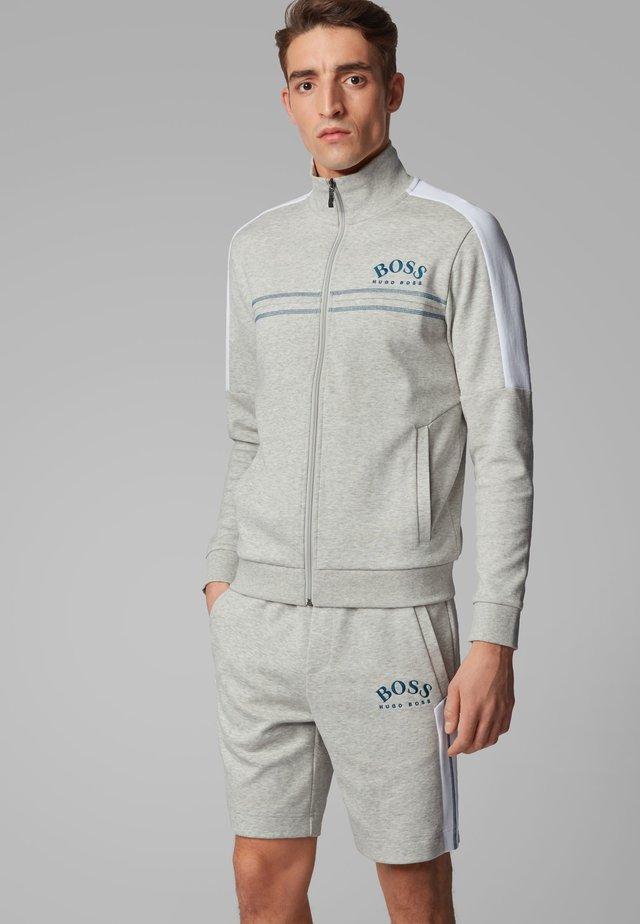 SKAZ - veste en sweat zippée - light grey