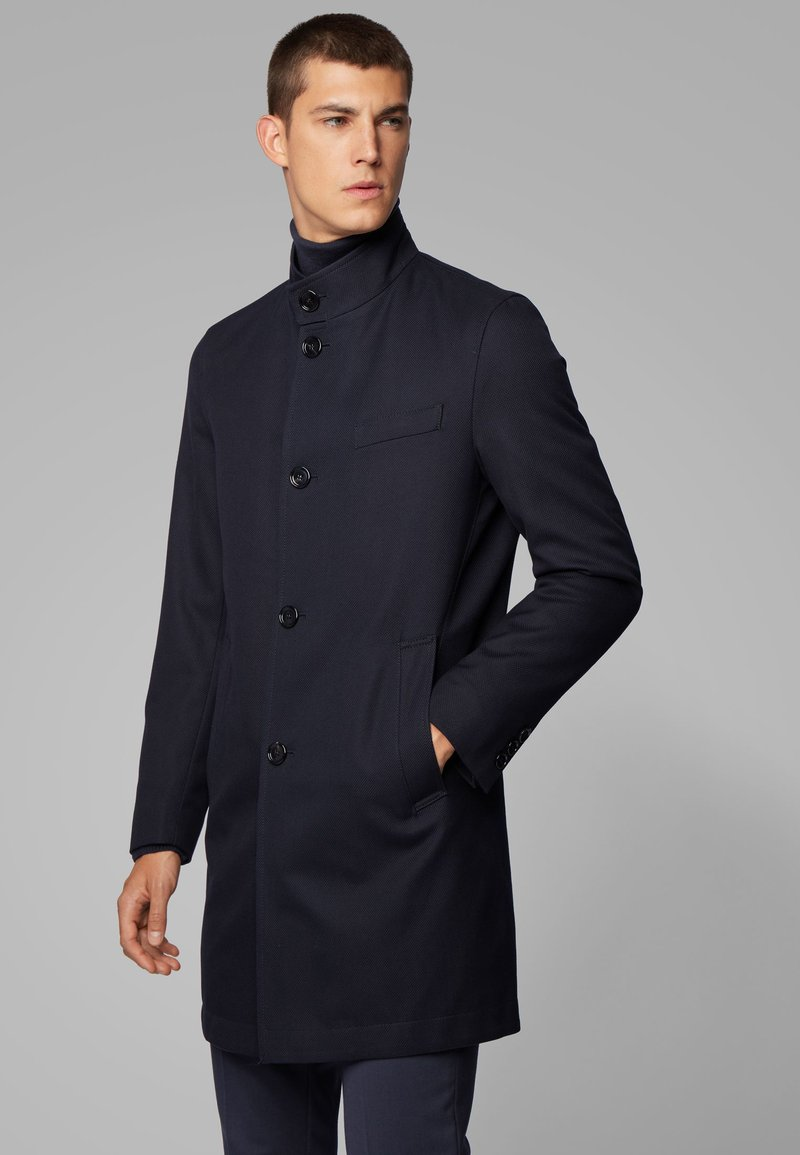 BOSS - SHANTY - Manteau court - dark blue